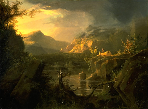 thomas cole journey of life. Thomas Cole / Romantic