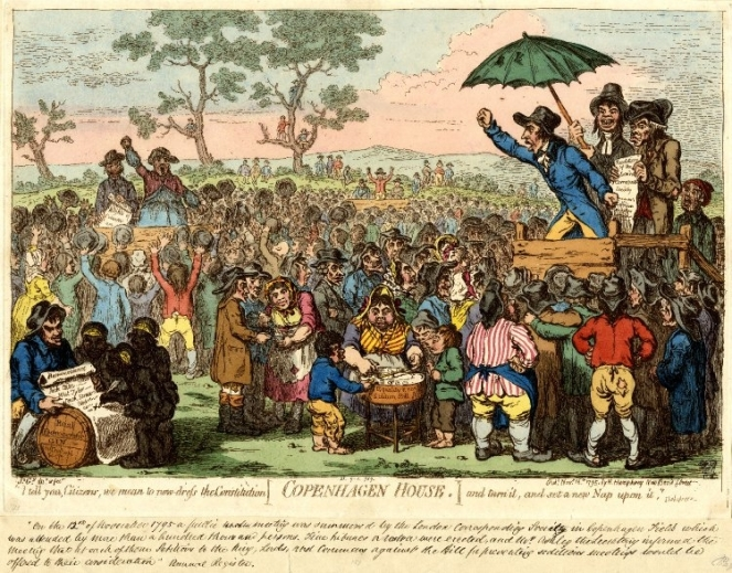 Critical Reassessments The Role Of Loyalist Visual Satire In The