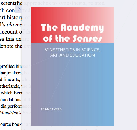 Frans Evers's The Academy of the Senses: Synesthetics in Science