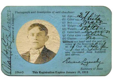 Driver's The New Evolution Wanderlust Of York License