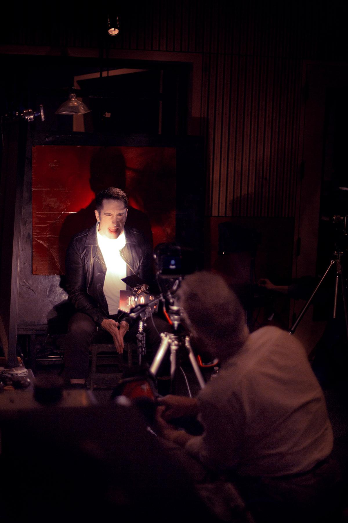 David Lynch filming Nine Inch Nails Video | WANDERLUST